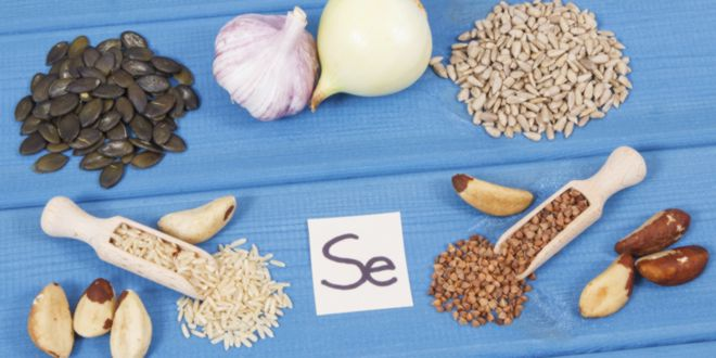 Sources of selenium