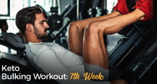 Keto Bulking Workout 7th Week