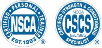 NSCA Certificates