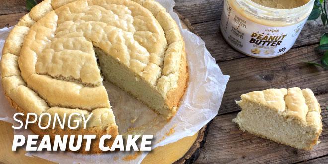 Spongy Peanut Cake