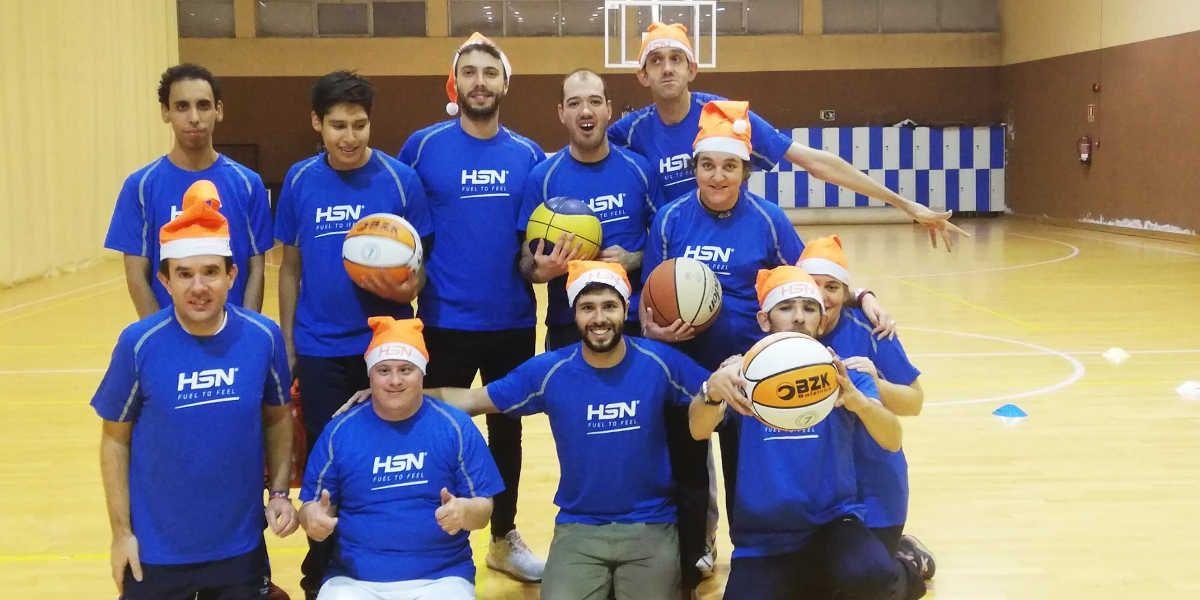 ADEMO wearing HSN t-shirts
