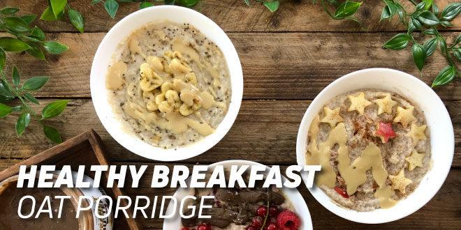 Flavored Porridge Bowls
