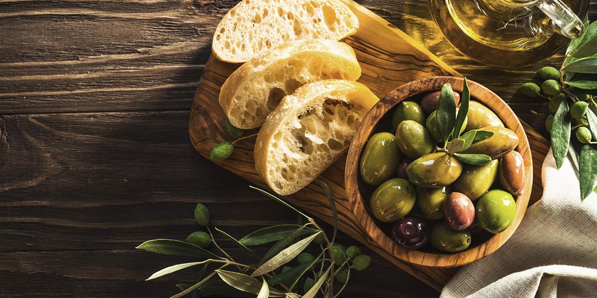 Olives appetizer