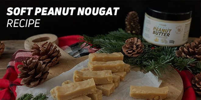 Soft Peanut Nougat Recipe
