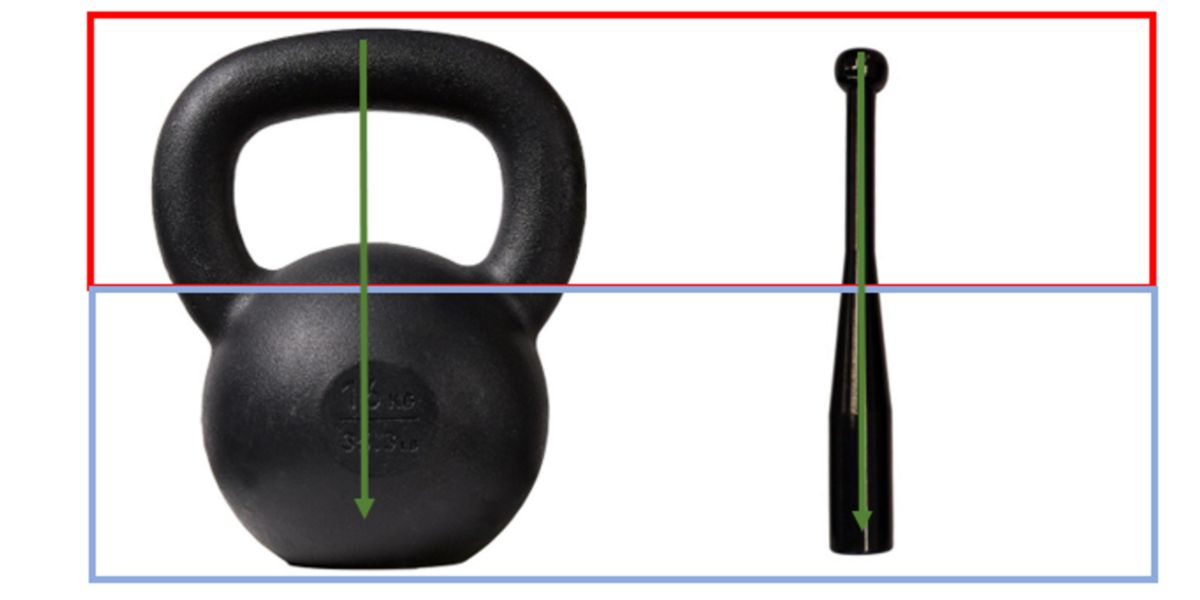 Weight distribution kettlebell vs clubbell