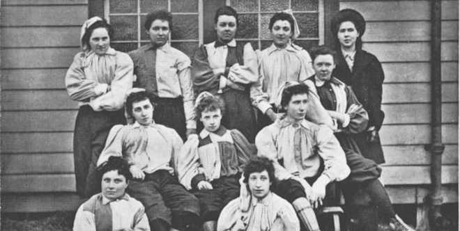Womens football history