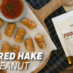 Battered Hake with Peanut