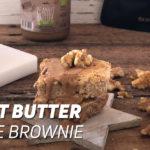 Peanut Butter Blondie Brownie