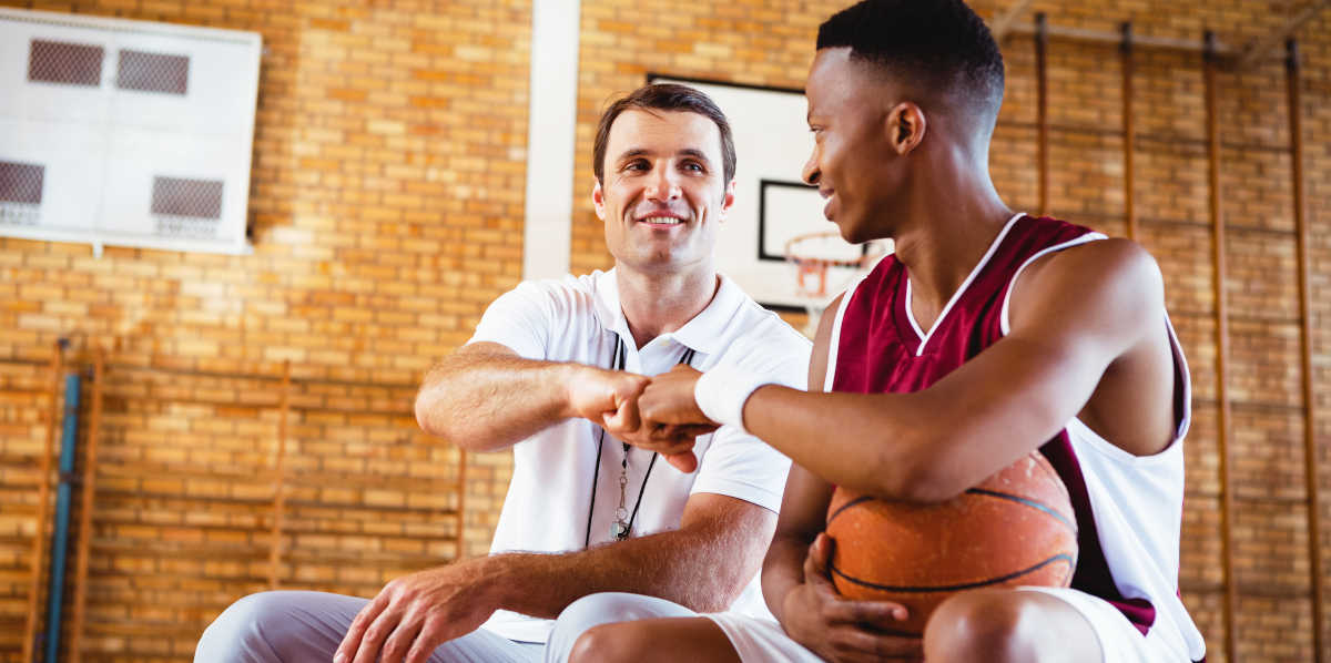 Basketball coach and player