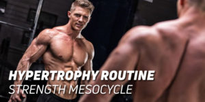 Hypertrophy Routine Strength