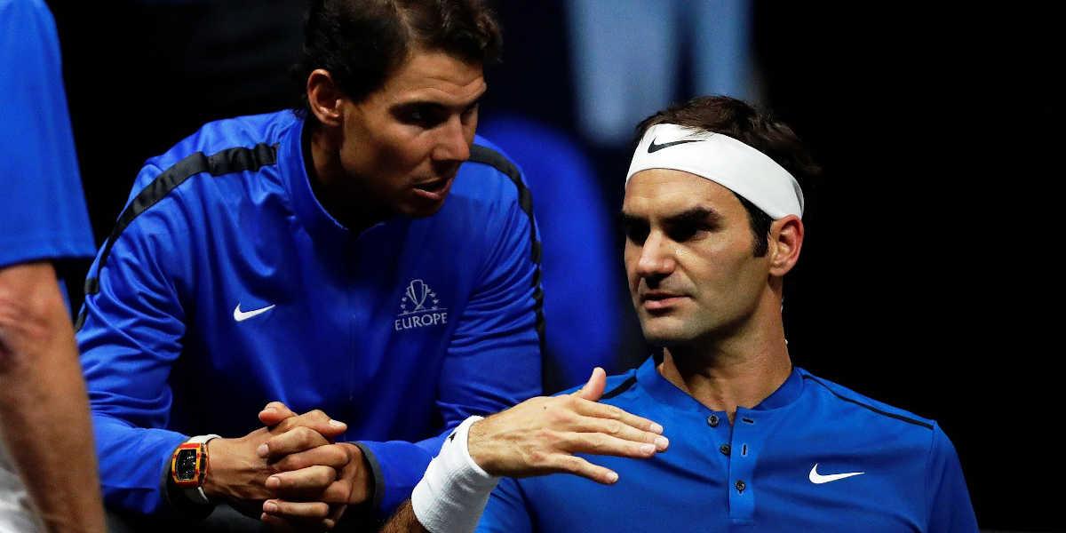 Tennis Nadal-Federer