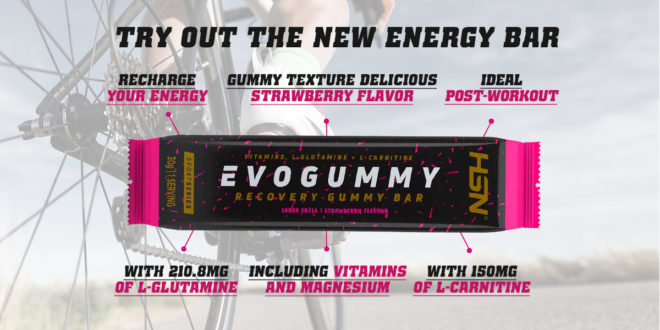 Evogummy, your best ally for Intra and Post-Competition in Cycling