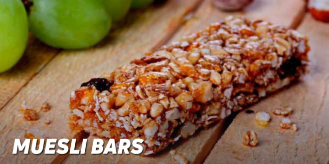 Muesli Bars (without oven or microwave)