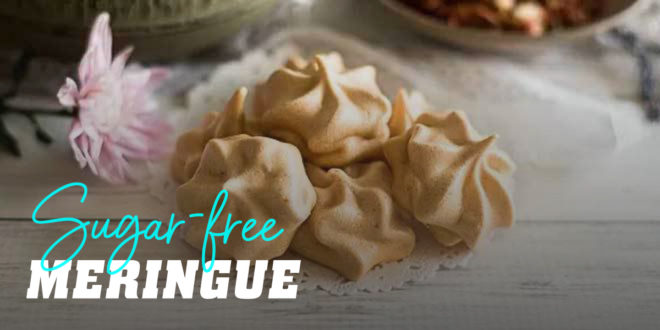 Sugar-free Meringue with Cinnamon