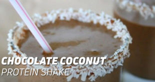 Chocolate Coconut Protein Shake