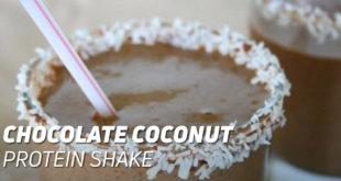 Chocolate Coconut Protein Shake