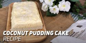Coconut Pudding Cake