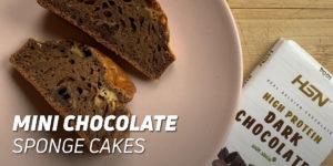 Mini Chocolate Sponge Cakes