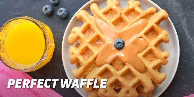Perfect Waffle Recipe