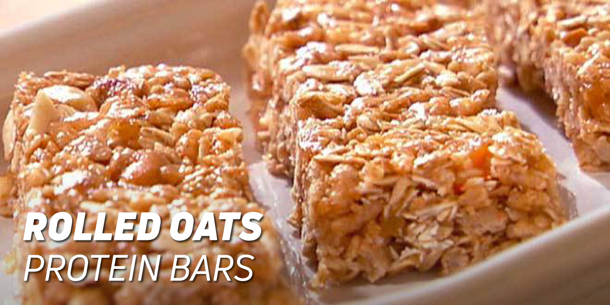 Rolled Oats Protein Bars