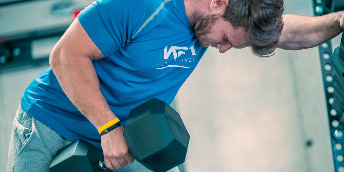Unilateral dumbbell row