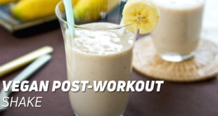 Vegan Post-Workout Shake
