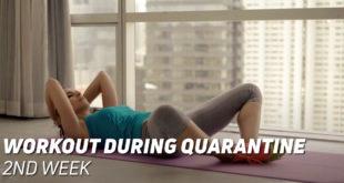 Workout during quarantine 2nd week