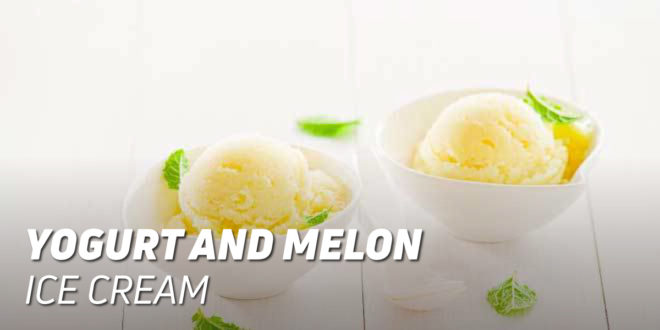 Yogurt and Melon Ice Cream