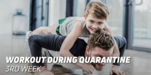 3rd Week Workout During Quarantine