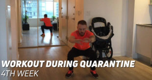 4th Week Workout During Quarantine
