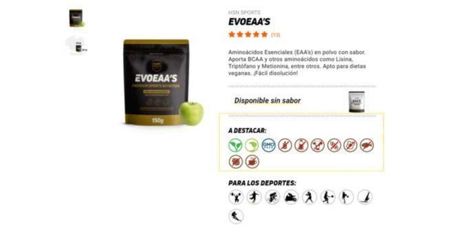 EVOEAA's allergens