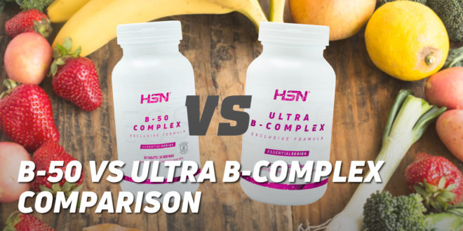 B-50 Complex VS Ultra B-Complex by HSN