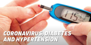 Coronavirus, diabetes, hypertension