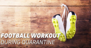 Football Home Workout during Quarantine