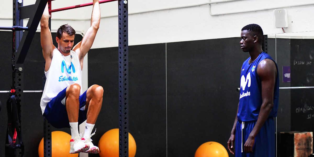 Movistar Estudiantes individual workout