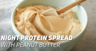 Night Protein Spread with Peanut Butter