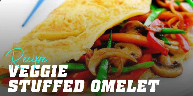 Veggie Stuffed Omelet