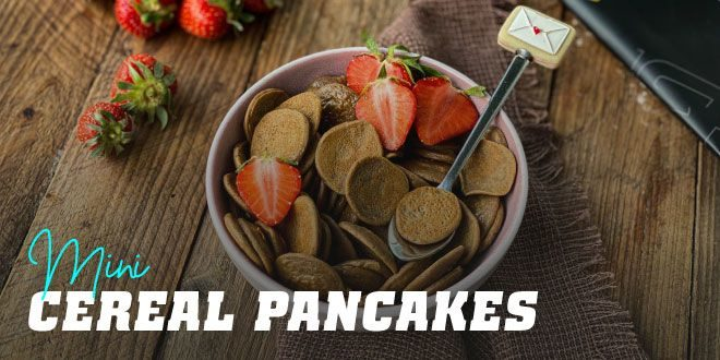 Mini Cereal Pancakes