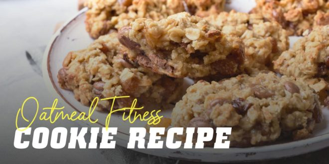 Recipe for healthy oat biscuits