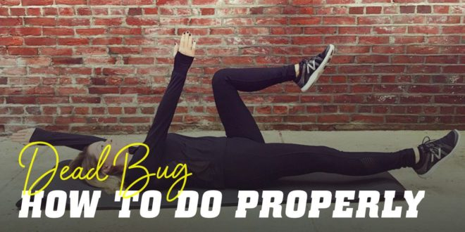 Dead Bug: How to Perform it Correctly