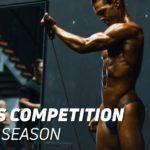 Fitness competitors diet on season