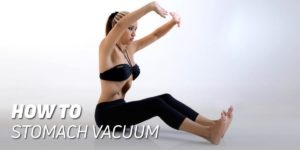 How to stomach vacuum