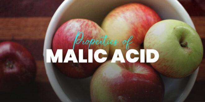 Malic acid and its properties