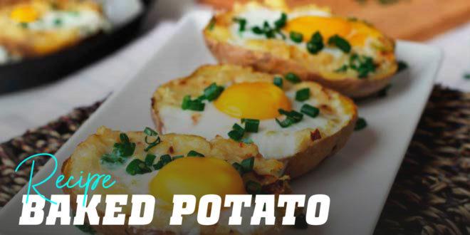 Baked Potato and Egg