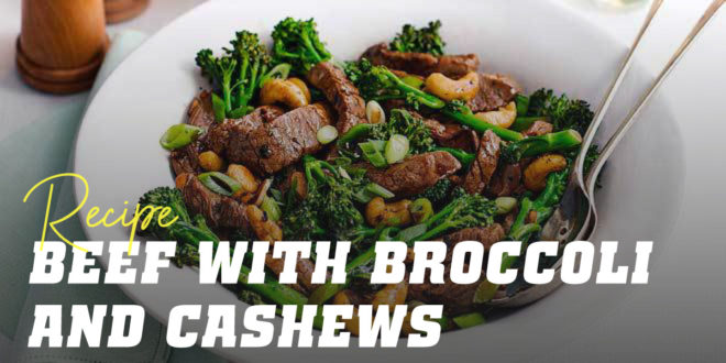 Veal with Broccoli and Cashews