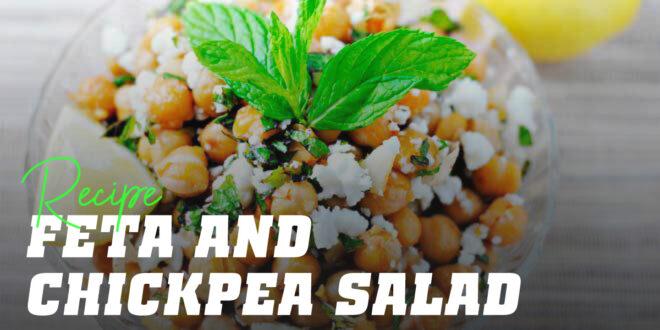 Chickpeas and Feta Salad
