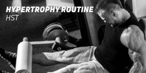 Hypertrophy routine hst