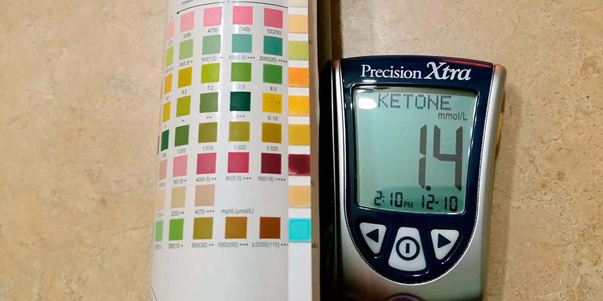 Ketonemia meter