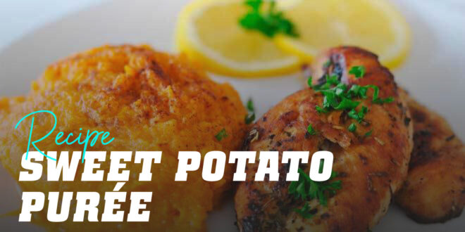 Chicken Breast and Sweet Potato Mash