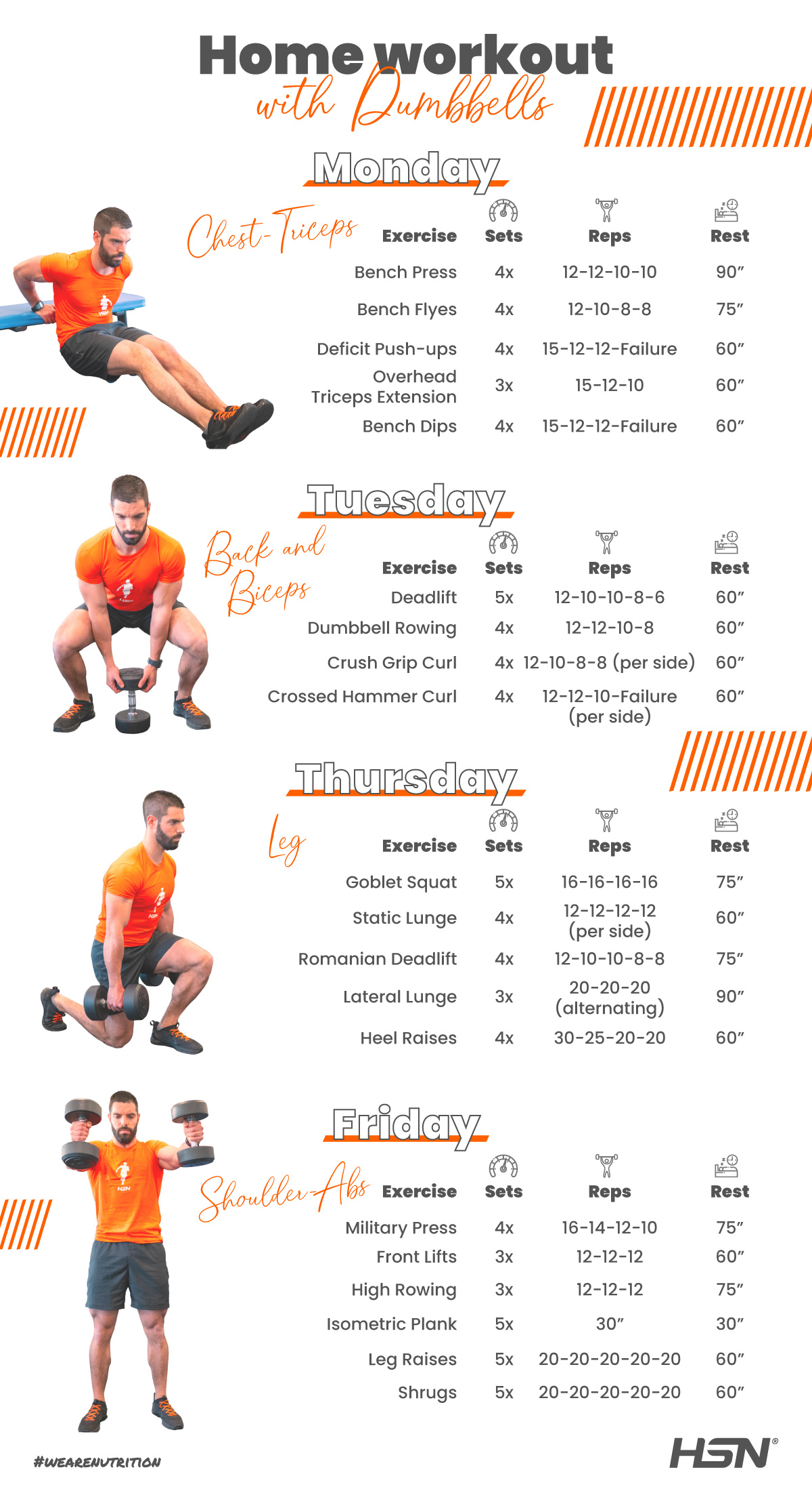 Training Dumbbell Month 4 and 5